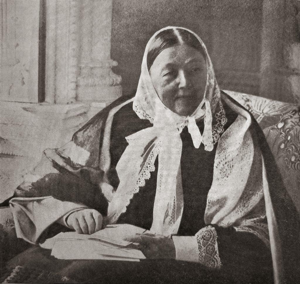 A portrait of nursing pioneer Florence